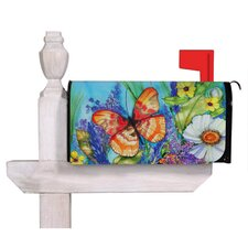 Bright Butterfly Magnetic Mailbox Cover