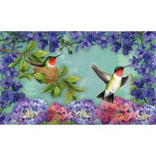 Hummingbird Nest Floormat