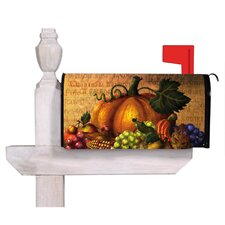 Give Thanks Table Magnetic Mailbox Cover