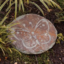 Winged Companions Slate Garden Stepping Stone (Set of 3)