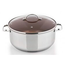 Signature 9.7-qt Stainless Steel Round Dutch Oven