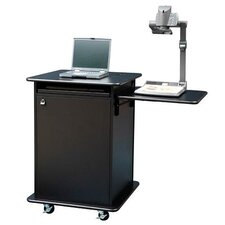 Educator Multimedia Cart in Black