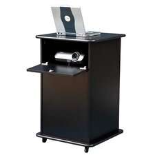 Educator Projector Cart in Black