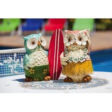 Coast Owl Statue (Set of 2)