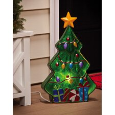 Winter Wonderland Christmas Tree Electric Lamp