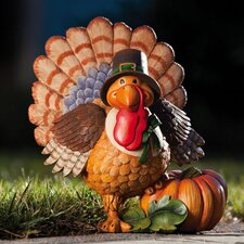 <strong>New Creative</strong> Give Thanks Turkey Statue