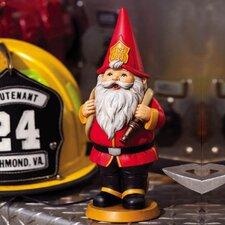 Heroic Gnomes Fireman Statue