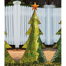Holiday Shine Christmas Tree Statue