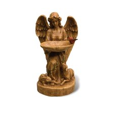 Glimpses of God Abundance Angel Bird Bath Statue