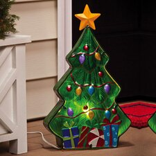 <strong>New Creative</strong> Winter Wonderland Christmas Tree Electric Lamp