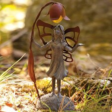 <strong>New Creative</strong> Solar Fairy Inquisitive Statue