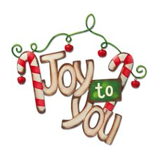 "<strong>New Creative</strong> It's Christmas Time ""Joy to You"" Wall Decor"