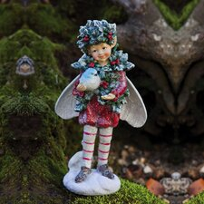 <strong>New Creative</strong> Holiday Shimmer Fairy Statue