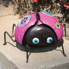 <strong>New Creative</strong> Cheerful Garden Ladybug Statue