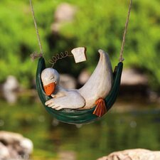 <strong>New Creative</strong> Garden Friends Day Dreamers Duck Statue