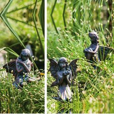 <strong>New Creative</strong> Fairy Gardens Mini Statue (Set of 3)