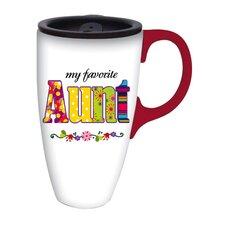 My Favorite Aunt Latte Travel Mug