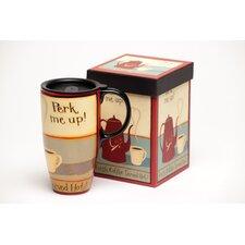 Perk Me Up! Latte Travel Mug