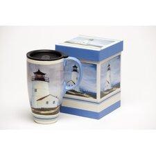 Lighthouse Latte Travel Mug