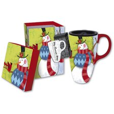 Flurries Latte Travel Mug