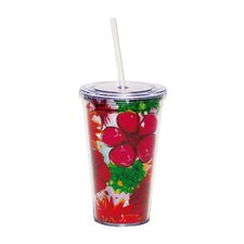 Floral Splash Insulated Cup