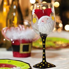 Happy Holly Days All Purpose Wine Glass
