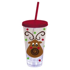 Reindeer Insulated Cup