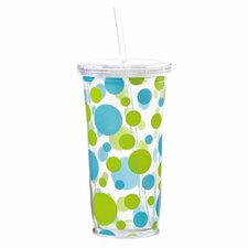 Polka Dots Insulated Cup