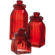 <strong>Cypress Home</strong> Glass Jar (Set of 3)