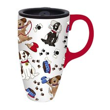 Life with a Dog Travel Latte Mug
