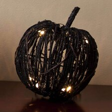 Rattan Pumpkin Decorative with LED Lights