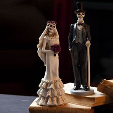 Bride and Groom Polystone Table Decor (Set of 2)