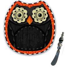 """Happy Owl'oween """"Serve It"""" Gift Set"""