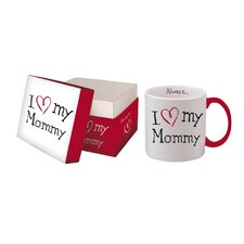 I Love My Mommy Boxed Title Mug