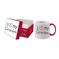 I Love My Grandpa Boxed Title Mug