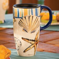 Brush Coastal Latte Travel Mug