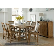 Willow Counter Height 7 Piece Dining Set