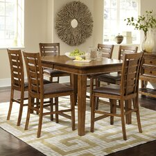 <strong>Progressive Furniture Inc.</strong> Catalina 7 Piece Counter Height Dining Set