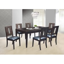 Dominos 7 Piece Dining Set