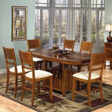 <strong>Progressive Furniture Inc.</strong> Soho 7 Piece Coutner Height Dining Set