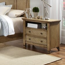 <strong>Progressive Furniture Inc.</strong> Kingston Isle 2 Drawer Nightstand