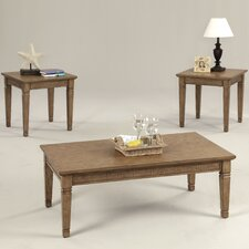Kingston Isle II 3 Piece Coffee Table Set