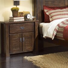 Trestlewood 1 Drawer Nightstand