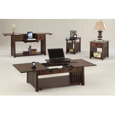 Mountain Mission Lift-Top Coffee Table Set