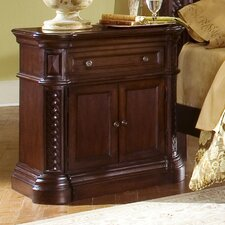 <strong>Progressive Furniture Inc.</strong> Marlestone 1 Drawer Nightstand