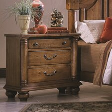 Thunder Bay 2 Drawer Nightstand