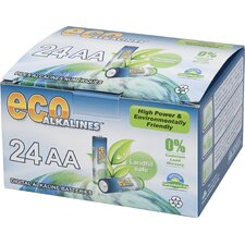 Alkaline AA Battery (Set of 24)