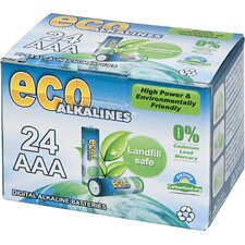 Alkaline AAA Battery (Set of 24)