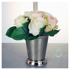 Roses in Julep Cup