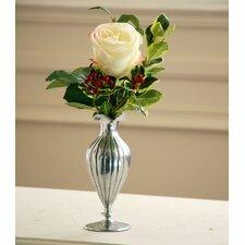 Single Rose Holiday Vase
